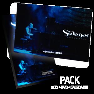 Pack 2CD + DVD + CALENDARIO